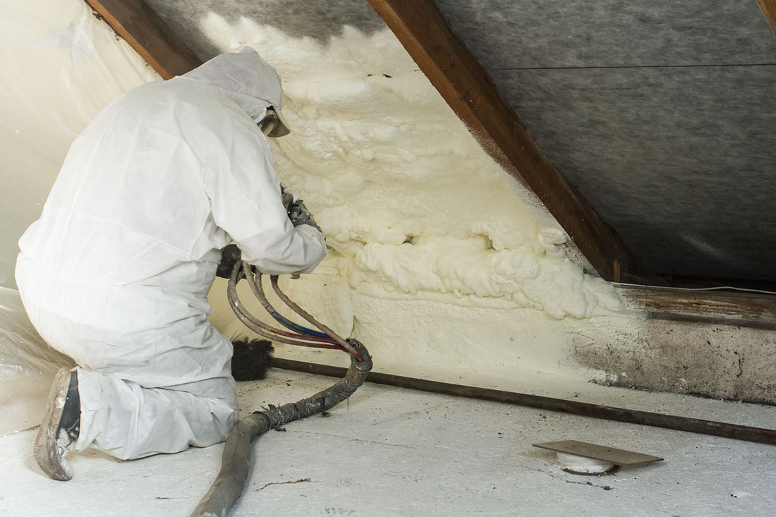 Spray foam insulation or SPF can be one of the best home insulation options
